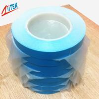 White Double Sided Thermal Tape Fiberglass Adhesive High Performance For Laptop Manufactures
