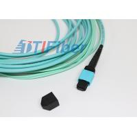 12 Core OM3 OM4 MPO Multimode Fiber Patch Cable for Telecom Network Manufactures
