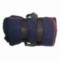 Picnic Blanket with Nylon Carrying Strap, Made of Polyester Fleece Manufactures