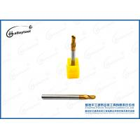 R1.5×50×D4×6×2F Tungsten Solid Carbide Ball Nose End Mills For Drilling Manufactures