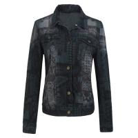 Autumn , Spring Denim Warm Womens Jackets and Tops for Girls / Teen Manufactures