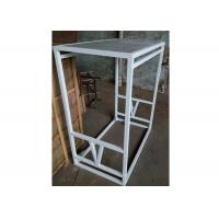 Practical Adjustable Gondola Display Stands Mobile Simple Style For Garment Shop Manufactures