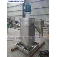 Stainless Steel Industrial Centrifugal Spin Dryer PET Recycling Machinery For Plastic Pellets Manufactures