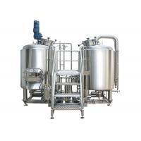High Power 8 BBL Brewing System Stainless Steel With PU Foam Insulation Manufactures