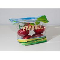 OPP / CPP Fresh Fruit Bags Stand Up Sachet With Holes Custom Printing Manufactures