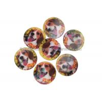 PET / PP Lovely Animal Image Sticker 3d Lenticular Printing Adhesive For Kids Manufactures