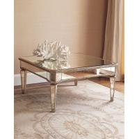 China Hot selling square mirrored coffee table living room furniture on sale