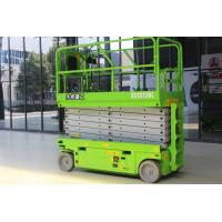 Hydraulic 13m working height Mobile scissor Lift Platform with capacity 320kg for cleaning Manufactures