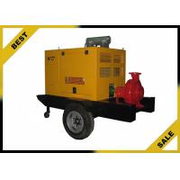 Quality 90kw Cryogenic Diesel Engine Water Pump Single State Pump Urban Drainage Usage for sale
