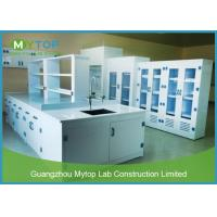 PP Material Hospital Laboratory Furniture Lab Workbench Alkali Resistance Manufactures