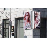 10mm Pixels Outdoor Full Color LED Display Sign DVI Signal Interface Easy Installation Manufactures