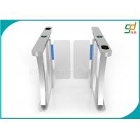 Entry And Exit Controlled Access Turnstile Security Systems RS485 Port Manufactures