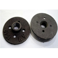 Black Threaded Steel Flanged Ductile Iron Fittings Manufactures