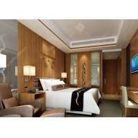 4 Star Highly Endurable Hotel Bedroom Furniture Sets Queen Size High Density Form Manufactures