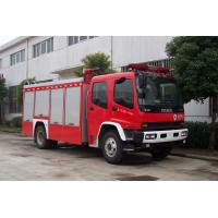 139kw 189hp Max Torque 510N.M Pumper Tanker Fire Trucks With Cooling Water Pipeline Manufactures
