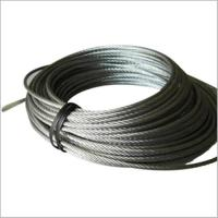 China Stainless steel wire rope PVC coated on sale