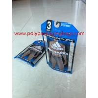Customized high-end, stylish, beautiful polyethylene underwear plastic bag with hook Manufactures