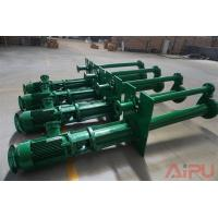 Aipu solids YZ series submersible slurry pump for well drilling mud system Manufactures