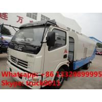 hot sale best price dongfeng chaochai 120hp diesel road sweeper truck, good price factory sale airport sweeping vehicle Manufactures
