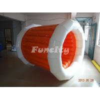 Double 0.6 Mm Pvc Tarpaulin Inflatable Water Roll Ball For Swimming Pool Game Funny Manufactures