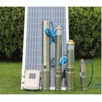 Quality Multi Stage DC Solar Water Pump Solar Stainless Steel 38mm Outlet High Pressure for sale