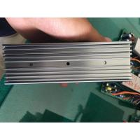 6063 Extruded Grey Anodized Aluminum Heat Sink With CNC Milling Holes Manufactures