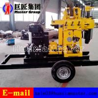 XYX-200 Wheel Type hydraulic press rotary drilling machine water well drilling rig for sale Manufactures