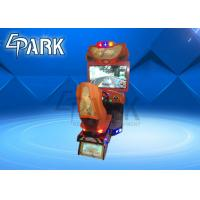 Coin Operated Car Racing Game Machine High Speed For Amusement Park Manufactures