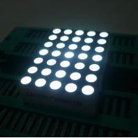 High Brightness 5x7 Dot Matrix LED Display Row Anode For Elevator Position Indicator Manufactures