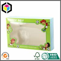 Clear Plastic PET Window Color Carton Box; Tuck Top Ends Packaging Paper Box Manufactures
