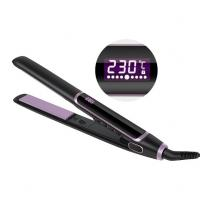 Kaylux 2 In 1 Professional MCH Heater Private Label Titanium Flat Iron Hair Straightener Manufactures