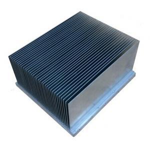 Clear anodized  Aluminum Extrusion Heatsink For Aluminum Radiator Manufactures