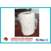 Plain Weave Crossing Spunlace Non Woven Tissue Sheets For Medical / Hygiene Industry Manufactures