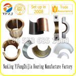 customized OEM high quality of split sleeve bearing,half bearing bushes,engine bearing Manufactures