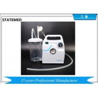 China Abs / Pvc Consumable Medical Supplies Small Electric Medical Suction Machine on sale