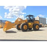 China 5 ton front end loader LT955 wheel loader with double arms on sale