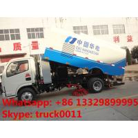 Quality hot sale best price dongfeng RHD 5.5cubic meters dongfeng road sweeper, factory direct sale 95hp diesel street sweeper for sale