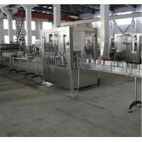 380V 50Hz Electric Food Filling Machine PLC Control For Juice / Water Manufactures