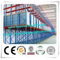 High Loading Capacity Cold Formed Steel Sections , Storage Shelf Drive In Racks Manufactures