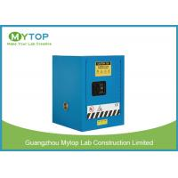 4 Gal Blue Flammable Safety Cabinets For Chemical Corrosive Dangerous Goods Manufactures