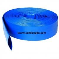 """Agriculture PVC Layflat Hose for Irrigation & Water (3/4""""-12""""), with Camlock Coupling, blue colour Manufactures"""