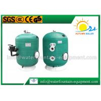 Industrial / Agriculture Swimming Pool Water Filter Filtration With 6 Way Valve Manufactures