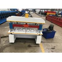 Buy cheap Automatic Aluminum Ibr Roofing Sheet Roll Forming Machine Hydraulic Cutting from wholesalers