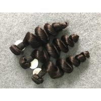 Loose Wave Unprocessed Brazilian Hair Smooth Feeling And No Tangle No Shedding Manufactures