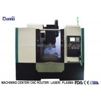 3 Color Alarming Lamp CNC Vertical Machining Center For Sanitary Ware Manufactures