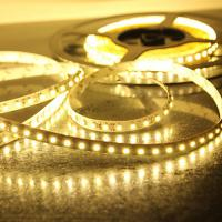 Outdoor 160º Yellow 3528 SMD led strip lighting waterproof with Long life for Hotel Manufactures