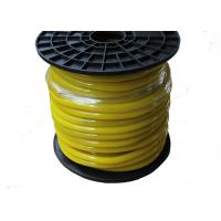 Yellow Housing Flexible Neon Rope , Cuttable Bendable Neon Flexible 12v Manufactures