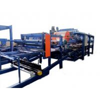 Colored Steel PU Sandwich Panel Production Line , Roof Panel Roll Forming Equipment Manufactures