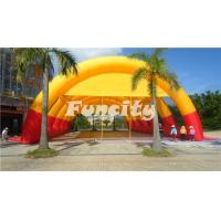 0.55mm PVC Tarpaulin Inflatable Paintball Bunker Tent for Paintball Bunker Game Manufactures