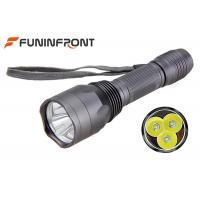 30W Powerful CREE 3T6 LED Torch , 5 Light Gears Brightest Tactical Flashlight Manufactures